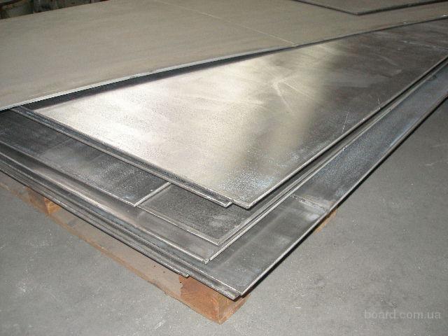 Лист нержавеющий сталь коррозионно-стойкая жаропрочная 12Х17 (AISI430) 1мм,1,5мм,2мм
