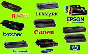 Заправка и восстановление лазерных картриджей HP, Canon, Samsung, Xerox, Brother, Epson, Kyocera, Panasonic в Киеве без выходных