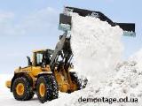 Уборка и вывоз снега.