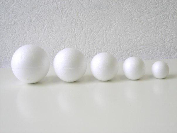 Пенопластовые шарики от производителя в Москве