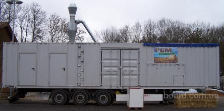мобильная линия гранулирования соломы (Германия)