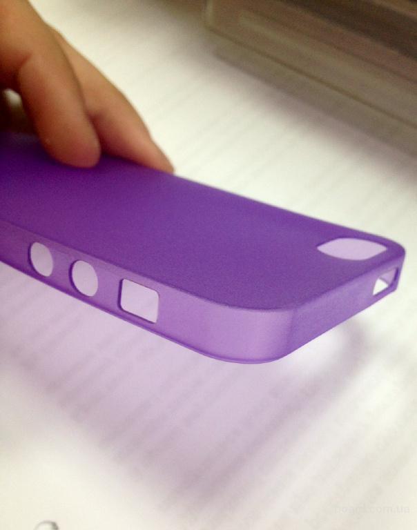 Чехол накладка ультратонкая для Iphone 5/5s