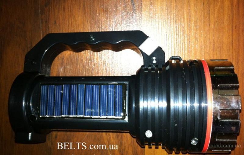 Цина.Фонарь аварийный HL-1012 с солнечной батареей, Emergency Lamp With Solar Battery HL-1012,