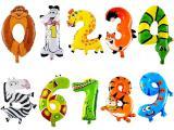 Цифра из воздушных шаров, Цифры из гелиевых шариков на День рождения