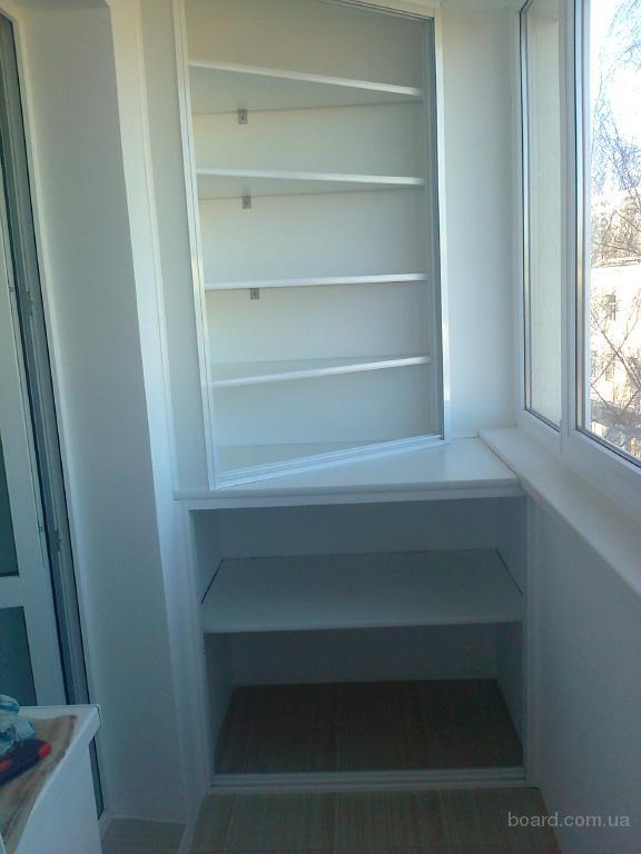 Изготовим и установим шкафы на балкон продам в киев, укра....