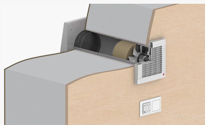 Приточно-вытяжная вентиляция Вентс Твин Фреш РА-50