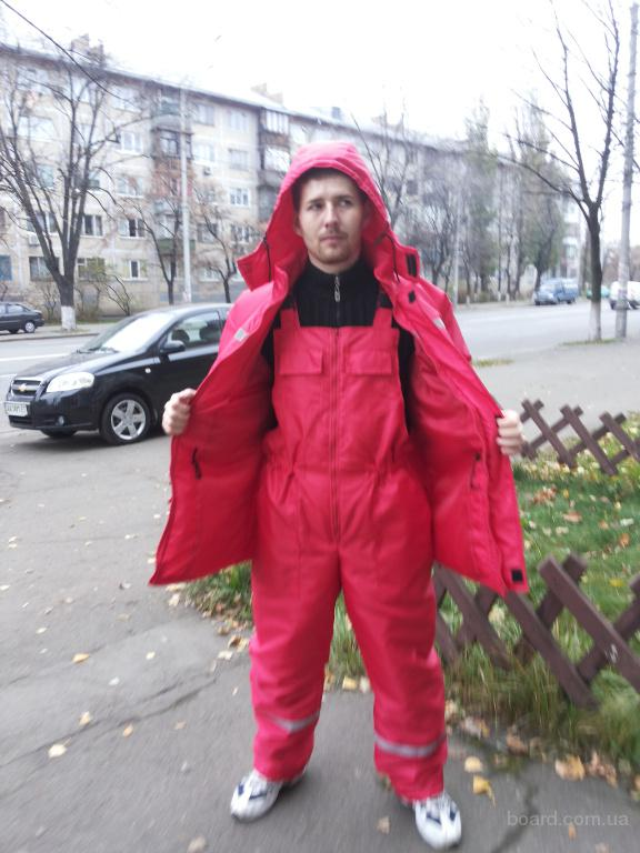 Полукомбинезон утепленный в Киеве под заказ