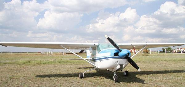 Внесение гербицидов самолётами малой ави