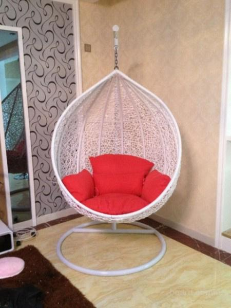 Кресло качели Кокон для дачи и квартиры