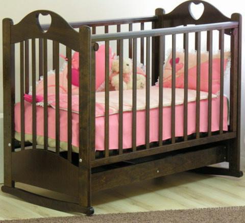 Кроватка детская Любаша С535 Красная звезда RedStar