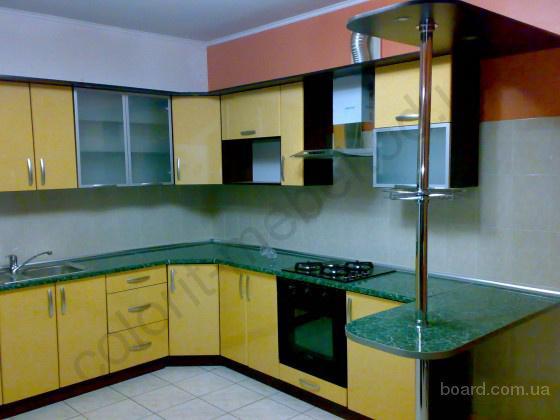 Kухня (пластик-Лимон) 3.1мx2.3м