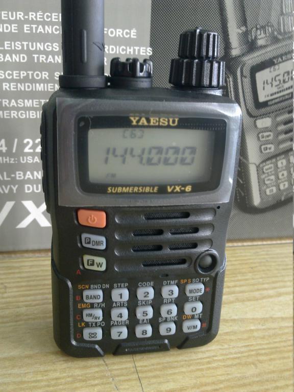 Рация, радиогстанция, Yaesu VX-6R