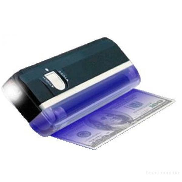 Ультрафиолетовый фонарик для проверки купюр