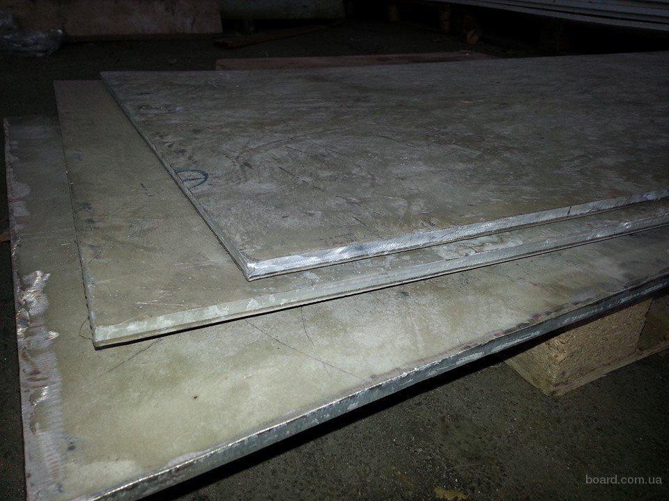 Лист биметалл 12Х18Н10Т/АМг6 10мм