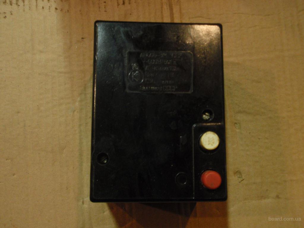 Автоматический выключатель АП-50Б 3М, АП-50Б 3МТ