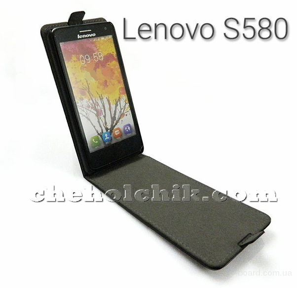 Чехол флип для Lenovo S580