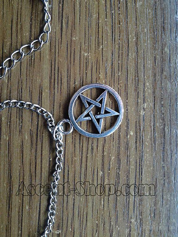 Амулет защиты от зла Дина Винчестера «Supernatural» + цепочка