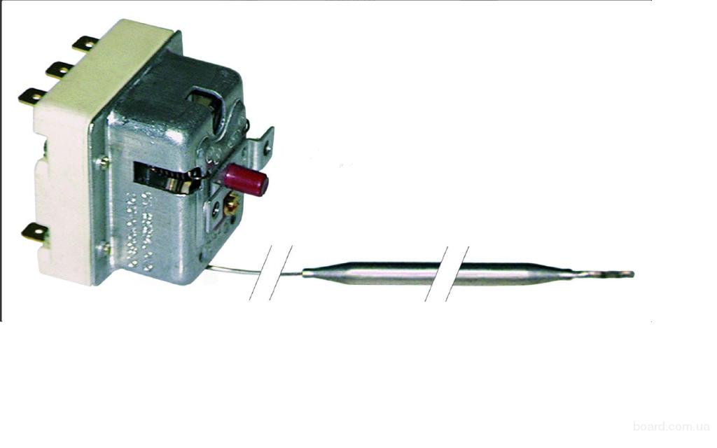 Термостат аварийный  220°C; 3 pol   (EGO 55.32549.060)
