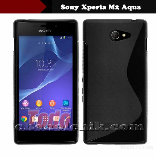 Чехол для Sony Xperia M2 Aqua D2403 / D2406 + пленка!
