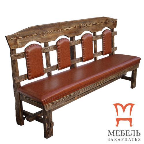 Мебель для сауны и бани, Скамейка Королевская