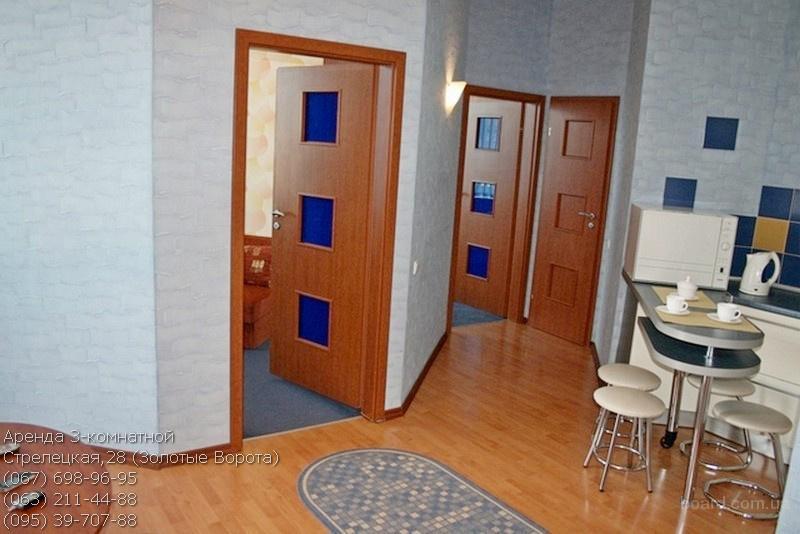 Аренда 3-комнатной, Золотые Ворота. Без комиссии!