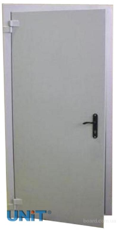 дверь железная промышленная
