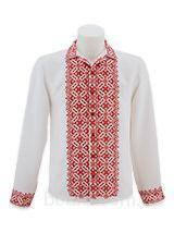 Сорочка мужская с украинским орнаментом