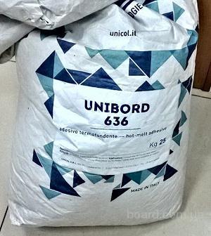 Unicol итальянский клей расплав Unibord 636 мешок 2700 грн