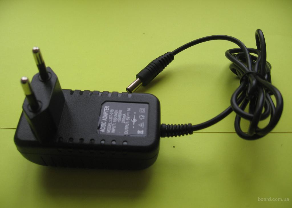 Адаптер 5V 1A (5В 1000mA), зарядное устройство к весам, блок питания для весов центровес 15Т2ДВ, весов самара