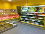 Магазин Продукты под ключ! Холодильные витрины, регалы, горки, бонеты, стеллажи и др.