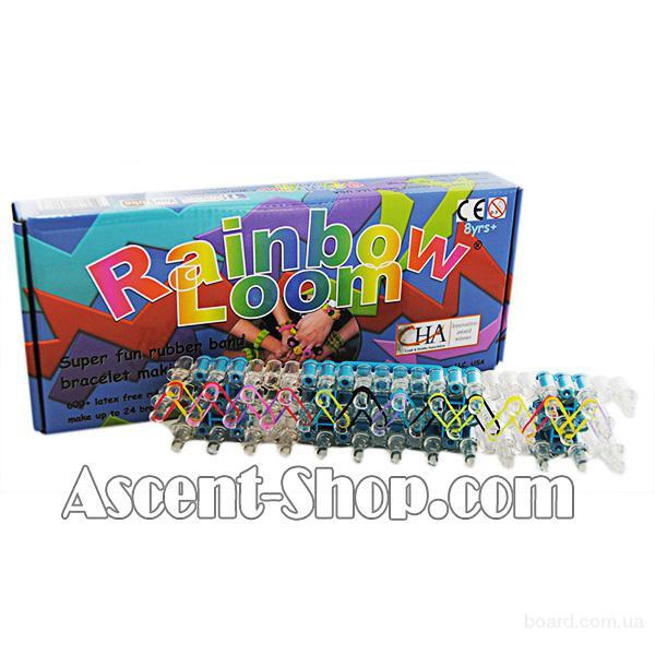 Rainbow Loom 600 набор для изготовления резиновых браслетов