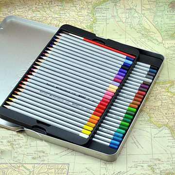 Профессиональные цветные карандаши Marco