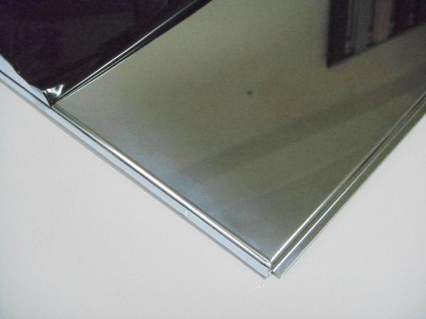 Лист н/ж 0,8 х1,0х2,0 AISI 304  (зеркальный + пленка)