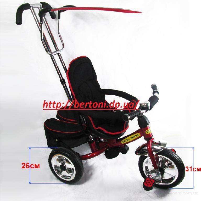 Детский трехколесный велосипед TILLY Combi Trike BT-TC-609