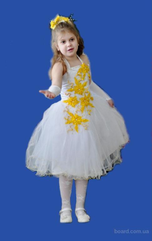 Детские нарядные платья напрокат