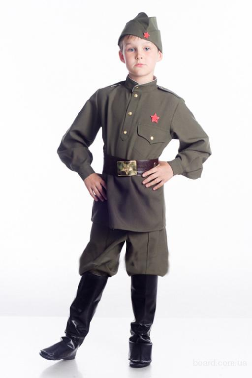 Прокат детского костюма военный, солдат, троещина, киев