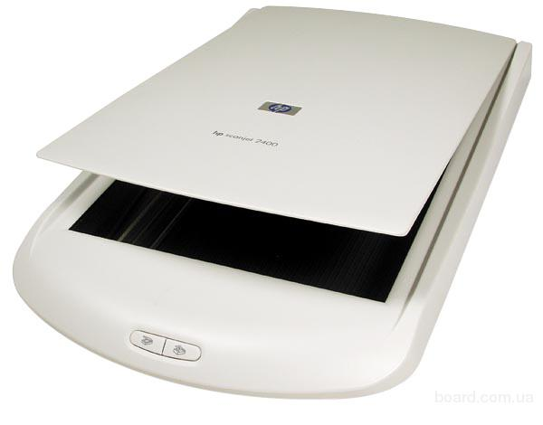 Сканер HP Scanjet 2400.
