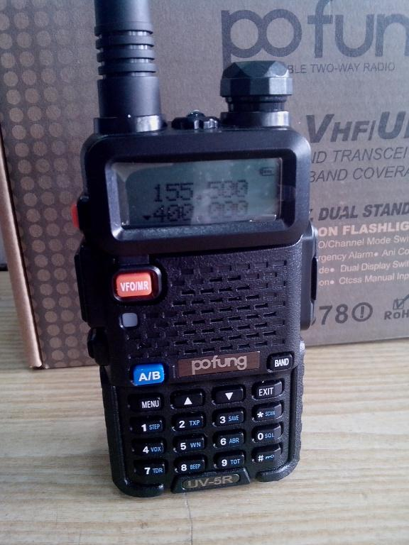 Рация, радиостанция Pofung UV-5R (Voyager Air Soft, Baofeng)