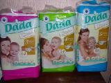 В наличии.Подгузники DADA, аналог Pampers Active baby, произв Польша
