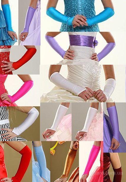 Перчатки детские к нарядным платьям