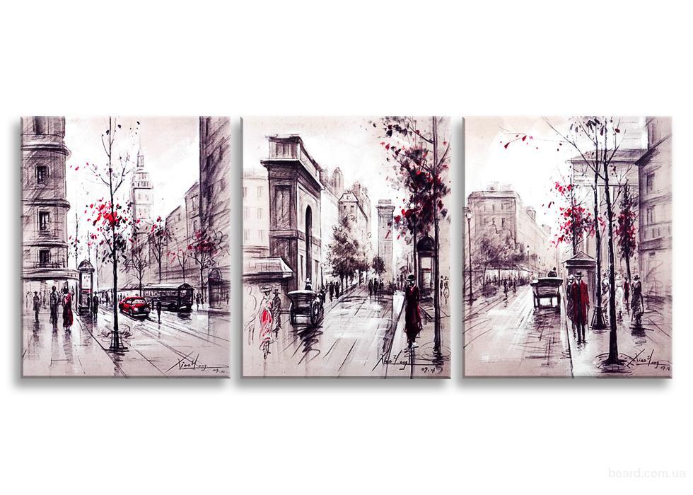 Модульные картины для интерьера в Санкт-Петербурге