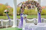 Аренда оригинальных арок в Киеве и области, оформление зала Прокат арки на свадьбу с искусственными цветами,