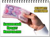 Поможем получить банковский кредит наличными, сумма до 85000 грн.