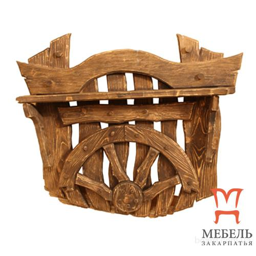 Мебель из дерева на заказ, Вешалка под старину
