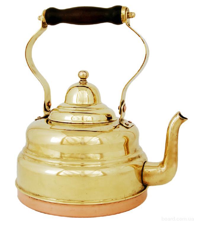 заварочный чайник из латуни производство Германии