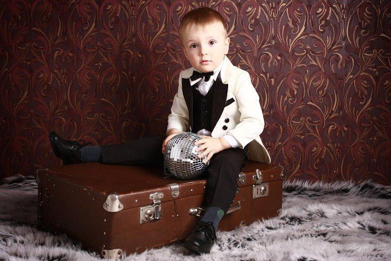 Детский костюм джентельмен, фрак, смокинг - прокат в Киеве, Троещина