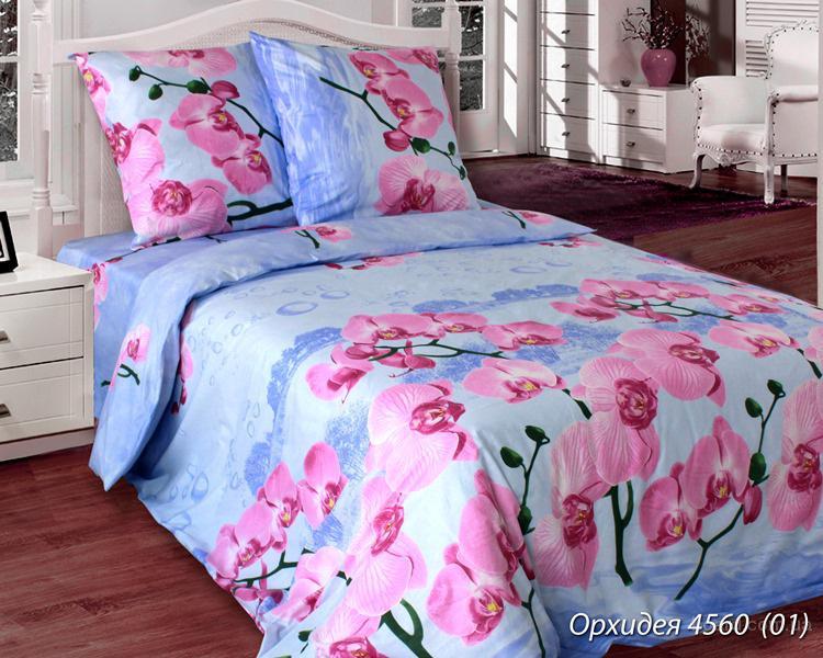 Постельное белье хлопковый рай, Комплект Орхидея