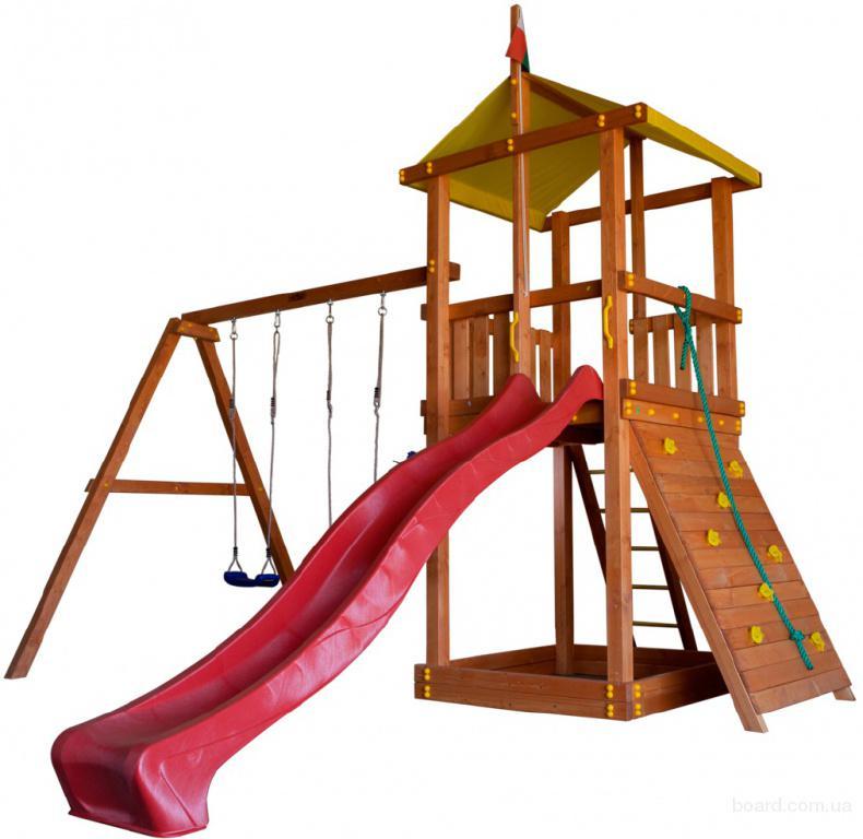Детский игровой комплекс +для улицы BL-4