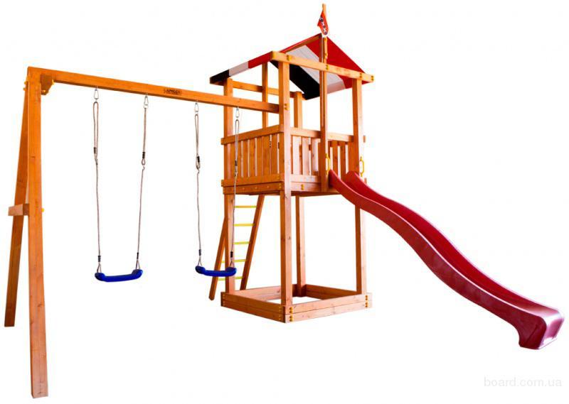Детский игровой комплекс +для дачи BL-2