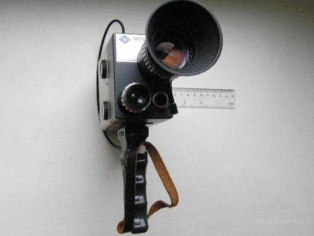 Кинокамера Agfa Movexoom, раритет 1963 года, коллекционная, редкая